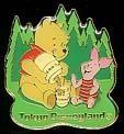 Tokyo Disneyland  Pooh & Piglet Japan  Pin/Pins