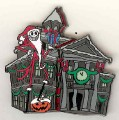 Disney DL - Haunted Mansion Holiday Sandy Claws pin