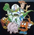 Disney Toy Story Gang Group shot Japan pin/pins