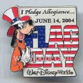 Disney WDW Goofy 3D flag day Limited Edition pin/pins