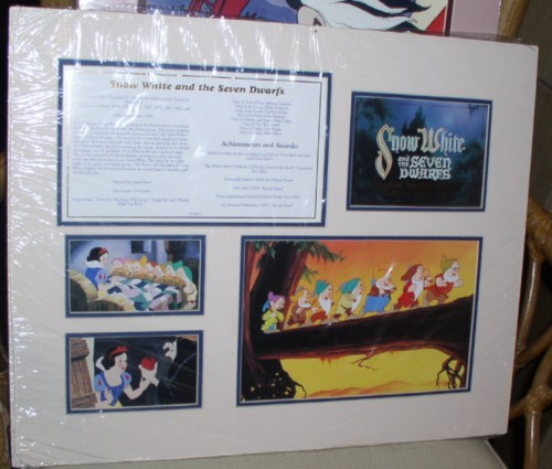 Disney Snow White Cast member Lithograph