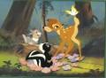 Disney Bambi Commemorative Gold Seal Lithograph
