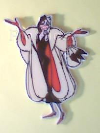Disney 101 Dalmatians Cruella De Vil Pin/Pins - Rena's Collectibles