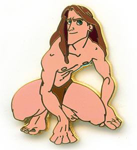 Disney Tarzan  full body guest complained Pin/Pins