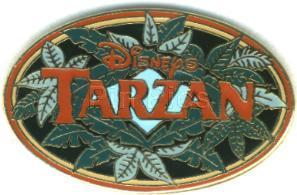 Disney Tarzan  logo pin retired Pin/Pins