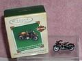 Harley Davison Motorcycles  1933  FlatHead  Cast Metal Hallmark Ornament