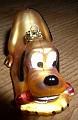 Disney Pluto Mickey Mouse Dog blown Glass ornament