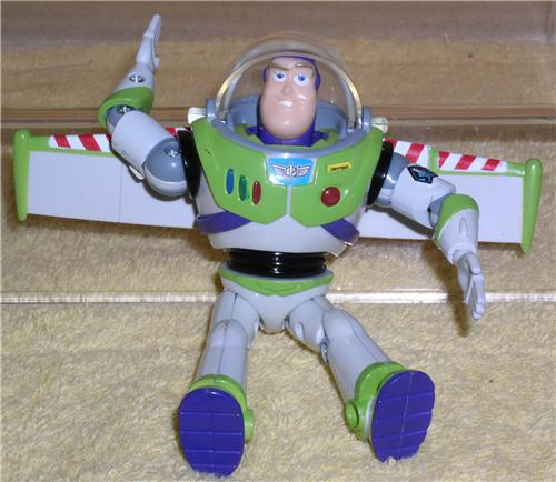 Toys For Legs : Disney toy story buzz action figurine inches movable