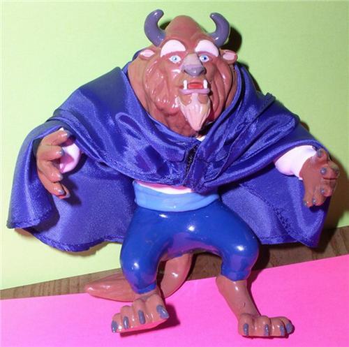 Beauty And The Beast Disney Figurine Pvc Ebay