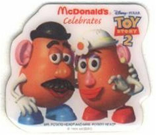 Item 70896 toy story 2 mr mrs potato head bucket of parts hasbro