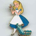 Disney Alice Wonderland with Caterpillar movement LE pin pins