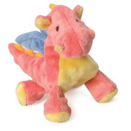 Coral Dragon - Tough Dog Chew Toy - Pink