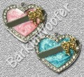 Luscious Hearts - Pink or Blue