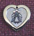Animal Stars Guardian Angel -  Swarovski Crystal Dog Cat Pet ID Tags - Engraved