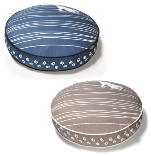 Dog on Wire - Round Designer Pet Bed by P.L.A.Y. - Two Color Options