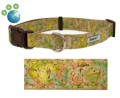 "Earth Friendly ""Butterfly Garden"" Cork and Hemp Dog Collar"