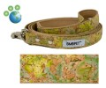 "Earth Friendly ""Butterfly Garden"" Cork on Bamboo Leash"