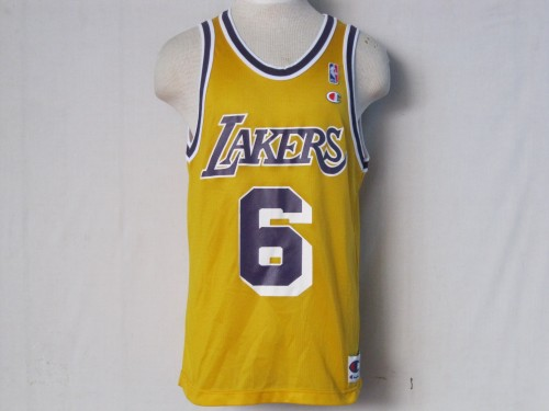 eddie jones lakers. Vintage #6 EDDIE JONES Los