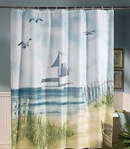 HARBOUR LIGHTS Lighthouse Patterned Shower Curtain,Towels, Bath