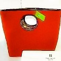 Kate Spade Chantelle Soho Orange Wool Felt Handbag
