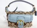 Coach Soho Signature Top Handle Pouch Handbag Bag Purse