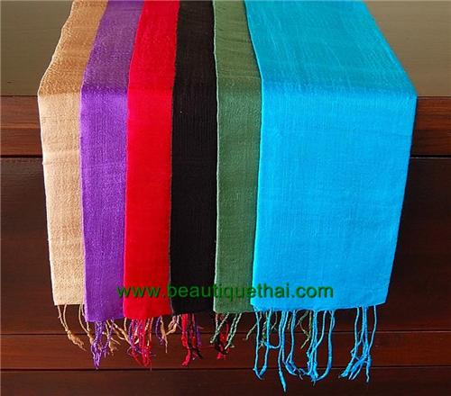 Thai Silk Scarf Wrap One Color  Wholesale Pack Small  6  Beautique  Thailand Silk Scarves Wholesale