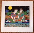 Traditional Thai Art Print on Fine Cotton No. 002