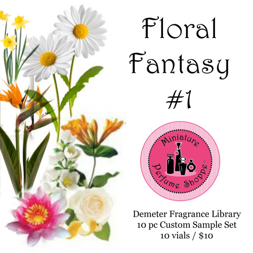 Demeter 10 pc Sample Set  (Floral Fantasy #1)