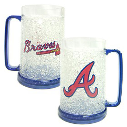 Atlanta Braves Crystal Freezer Mug
