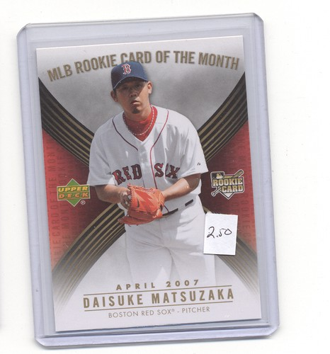2007 Upper Deck MLB Rookie Card Of The Month ROM1 Daisuke