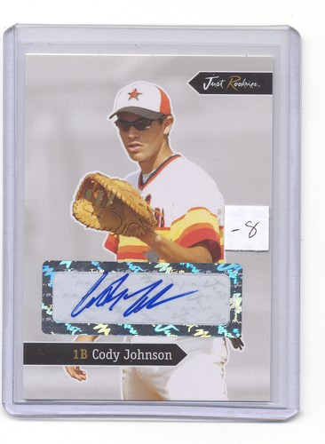 2006 Just Rookies Autographs 21 Cody Johnson Baseball Card