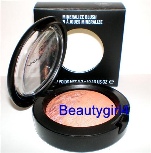 MAC Cosmetics Mineralize Shimmer Blush Duo Cheek EARTH TO EARTH
