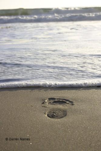 Foot_Print_Beach_sunset_sand_artprint.jpg