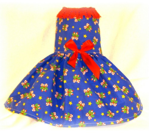 Candy cane blue dress 2009.JPG