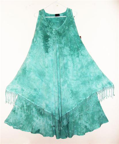 DAIRI Moroccan Susti Goddess XL Magic Dress Sea Breeze Crystal