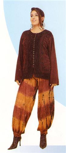 GEETA Hippie Bohemian Festival Gypsy Indian Tie Dye Harem Pants All Colors