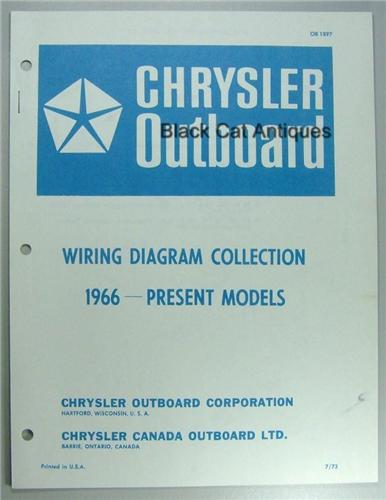 1973 Chrysler Outboard Wiring Diagram Collection Including ...