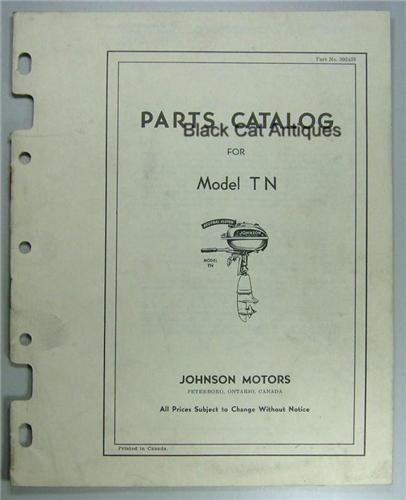 johnson outboard motor repair manuals