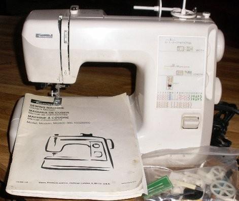 kenmore sewing machine serger
