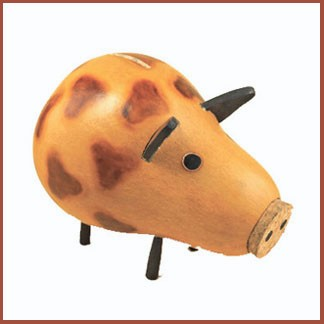 gourd piggy bank