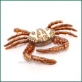 bejeweled sand crab trinket box