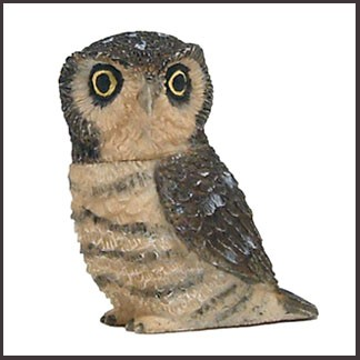 harmony ball hawk owl pot belly