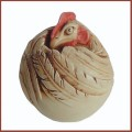 harmony kingdom rush rooster roly poly.jpg