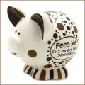our name is mud chocolate feed me piggy bank