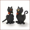 blossom bucket black cats in bow ties
