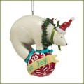 department 56 percy polar bear ornament