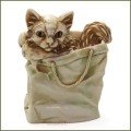 harmony kingdom moggy bag cat treasure jest