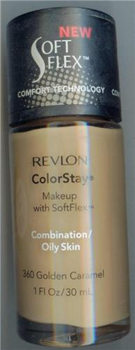 Revlon ColorStay Makeup With Softflex ,Golden Caramel Combo / Oily ...