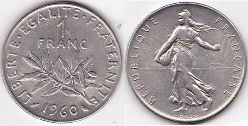 1960 France 1 Franc.jpeg