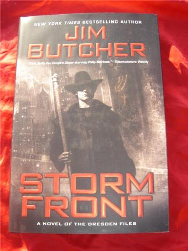 Storm Front by Jim Butcher - Dresden Files 1 - first edition hardcover hcdj